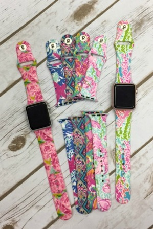 Lilly Inspired Apple iwatch band
